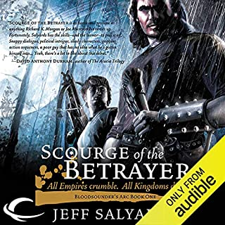 Scourge of the Betrayer audiobook cover art
