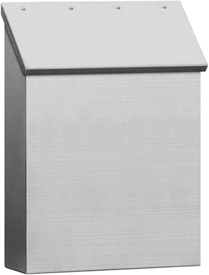 Salsbury Industries Stainless Steel Mailbox, Surface Mounted Sta