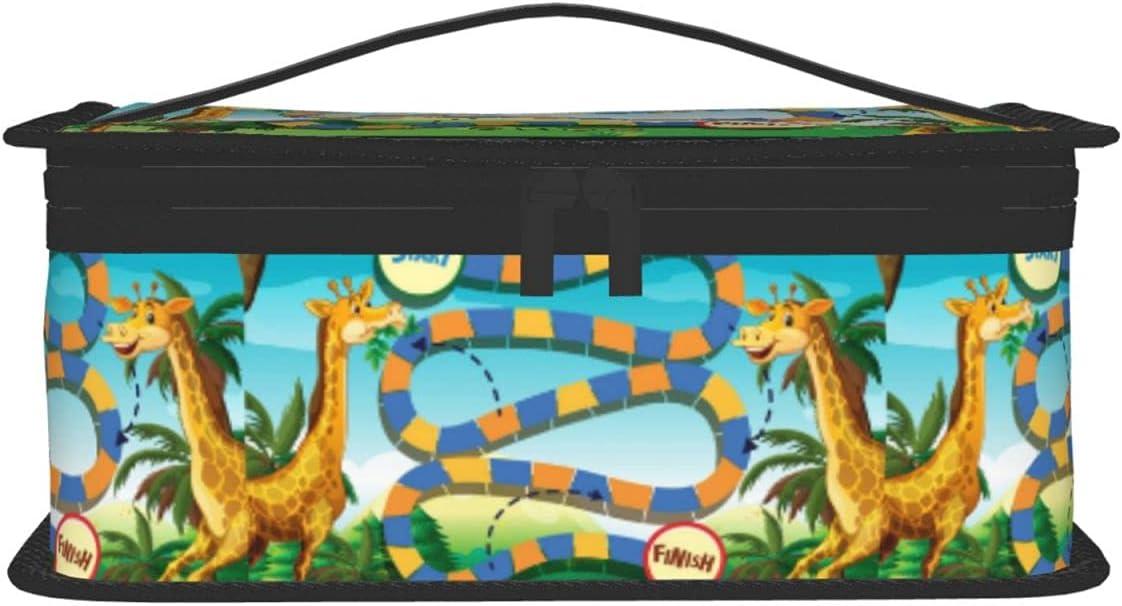 sordiw Cute Boston Mall Cartoon Giraffe Insulated Bag Lunch Office Pi School Raleigh Mall