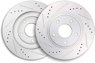 ECCPP Brake Rotors, 2pcs Front Brake Discs Rotors Brakes Kits fit for 2003 2004 2005 Infiniti G35,2003 2004 2005 Nissan 350Z