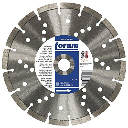 Forum diamit lasergescheißt, disque diamant 350 x 25,4 x 3,3 mm, 4317784891998