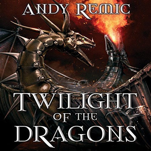 Twilight of the Dragons audiobook cover art