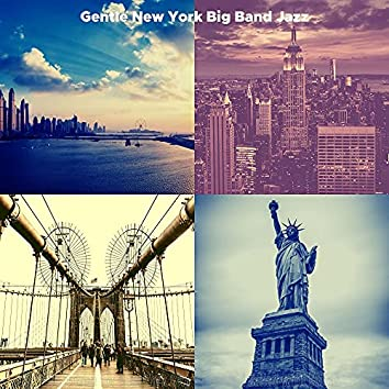 Backdrop for New York City - Big Band Ballad with Guitar