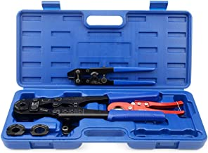 IWISS F1807 Copper Ring Crimping Tool Kit for 3/8,1/2,3/4,1-inch- Free Removal Tool&..