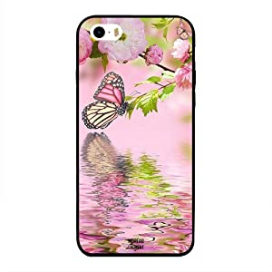 iPhone 5/ 5s/ SE Case Cover Butterfly with Reflection on Water, Moreau Laurent Designer Phone Cases & Covers