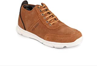 Red Chief Men Brown Leather Casual Shoes (RC30002 7181)