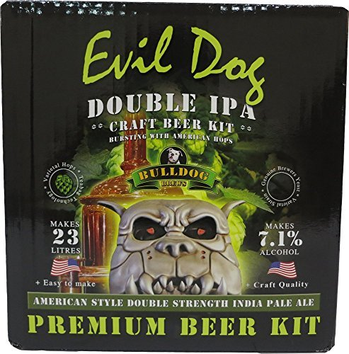 Hambleton Bard Bulldog Home Brew Beer kit male Dog American double IPA by