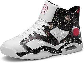 6a9f417fbe9e5 RYRYRB Chaussures de basket-ball pour hommes, amortisseur de performance,  bottes de basket