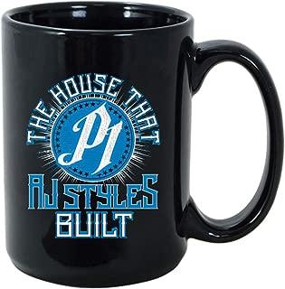 WWE AJ Styles The House That AJ Styles Built 15 oz. Mug