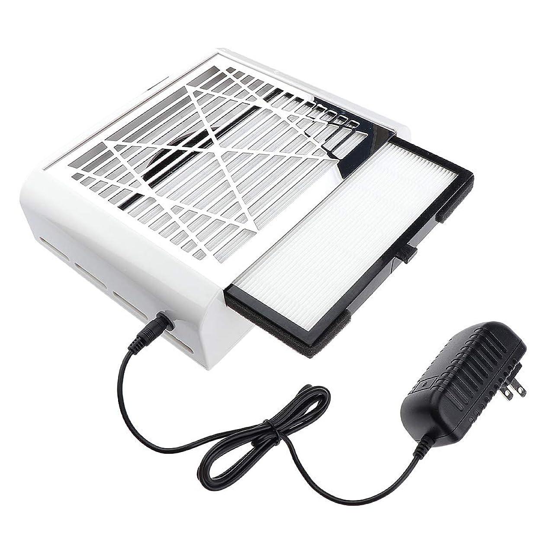 男やもめ肺炎和らげるF Fityle ネイルダストコレクター 40W 掃除機 ネイルフィルター