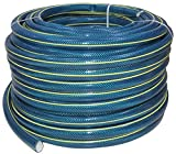 AERZETIX - Manguera de riego tejida de 4 capas en goma Ø3/4' - longitud 50m - 8 bar - herramienta de jardín - C48791