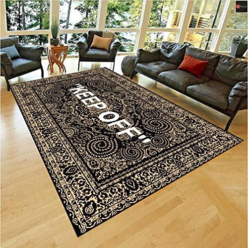 Haiqings Keep Off Area Rugs Floor Mat Black And White Carpet Living Room Bedroom Bedside Bay Sofa Floor Decor Mat 200x300cm