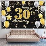 Extra Lange Banner für 30. Geburtstag Dekoration Männer