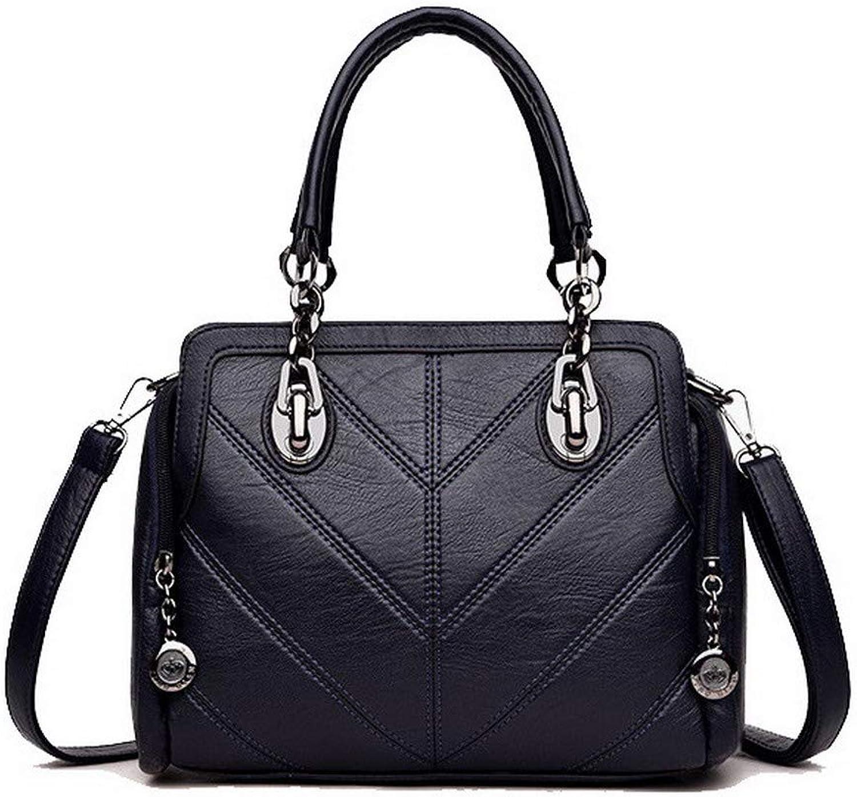 Amonymode Woherrar Zipper crossbody  väskas mode Pu Shoulder Shoulder Shoulder väskas, BUtbU182242  försäljning online spara 70%