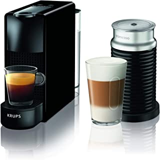 Krups Nespresso Essenza Mini XN110810 Cafetera De Capsulas, 1310 W, 0.6 Litros, Negro