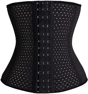 Womens Waist Trainer Cincher Body Shaper Underwear Lingerie Tummy Slim Belt Postpartum Control Underbust Steel Boned Corse...