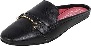 Catwalk Women's Black Flat Slip Espadrille