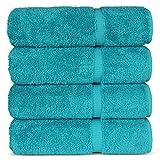 Chakir Turkish Linens Calidad de hotel y spa, 100% algodón muy absorbente, juego de toallas turcas (toallas de baño –...