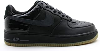 Nike Air Force 1 Low Premium Shoes 318775-001 Black/Anthracite/Gum Light Brown