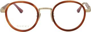 Gucci Mens Round/Oval Optical Frames GG0067O-30001063-001