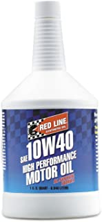 Red Line 11404 10W-40 Synthetic Motor Oil - 1 Quart (Pack of 6)