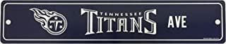 WinCraft NFL Tennessee Titans Street Sign