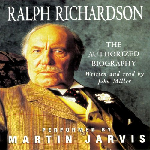 Sir Ralph Richardson audiobook cover art