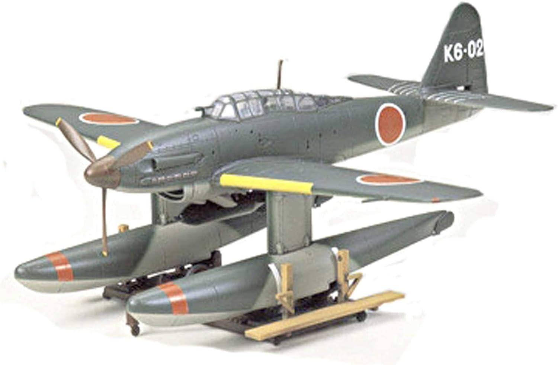 Tamiya Aircraft Model Kit 1//48 AICHI M6A1 SEIRAN Float Plane Japan Navy Sub