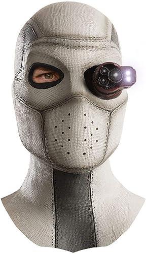 Horror-Shop DC Comic Suicide Squad Deadshot Latex-Maske
