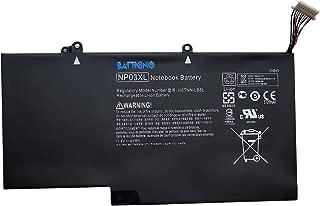 43Wh NP03XL Laptop Battery Compatible for HP Envy X360 15-U010DX 15-U011DX 15-U110DX 15-U111DX, Pavilion X360 13-A010DX 13-A012DX 13-A110DX,Fits HSTNN-LB6L 760944-421 TPN-Q146 TPN-Q147 TPN-Q148