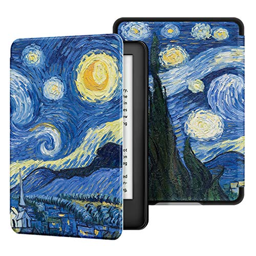 ,Durable Soft Leather with Auto Wake//Sleep,Strong Adsorption for All-New Kindle Oasis,Marr/ón 10th Gen, 2019 Release /& 9th Gen, 2017 Ayotu Skin Touch Feeling Case for All-New Kindle Oasis