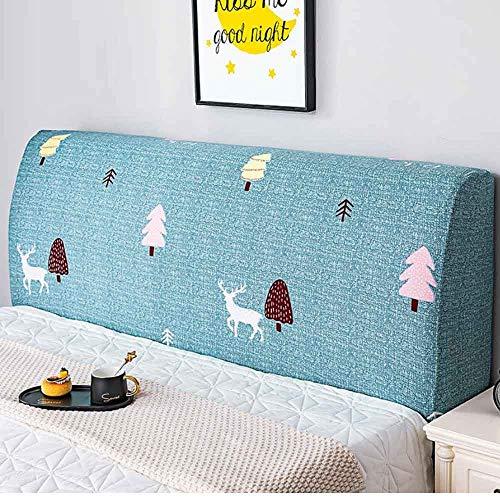 ZHICHENG Cabecero Cover-Cubierta para Cabecero De Cama,Tela,Protector Cubierto Elástica Funda para Cabecero para La Decoración del Dormitorio (Color : Color 7, Size : 150cm)