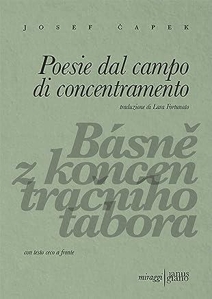 Poesie dal campo di concentramento. Ediz. ceca e italiana