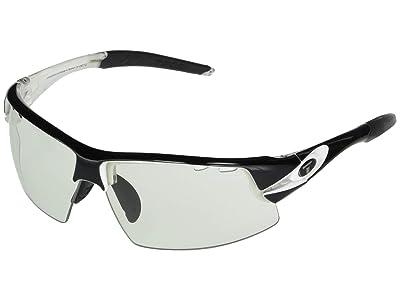 Tifosi Optics Crit (Crystal Black Frame Light Night Fototec Lens) Sport Sunglasses