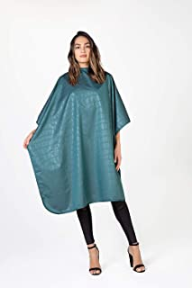 Betty Dain Alligator Hide Bleach-proof Multi Purpose Coloring/Styling Cape, Jade