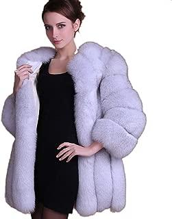 Wome Winter Coat Warm New Faux Fur Coat Outerwear Women's Fashion Fur Coat