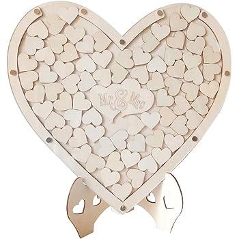 compleanno 56 Pieces 400x300mm Puzzle personalizzabile in legno libro degli ospiti per matrimonio anniversario Legno 16