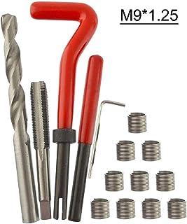 Kit de inserção de rosca métrica GoolRC 15 peças M3 M4 M7 M9 M11 Helicoil Car Pro Coil Tool M7 1 D