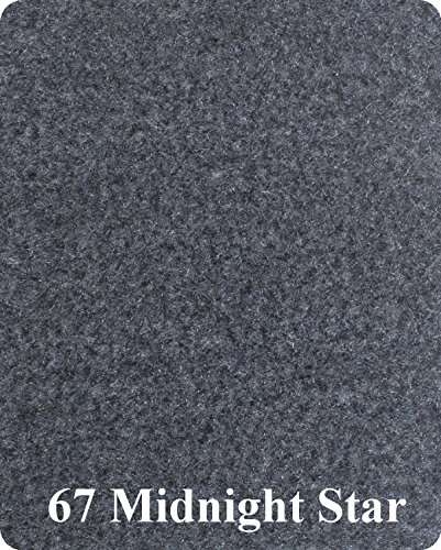 16 Oz Cutpile Boat Carpet - 6' Wide / 12 Colors (Charcoal, 6x16)