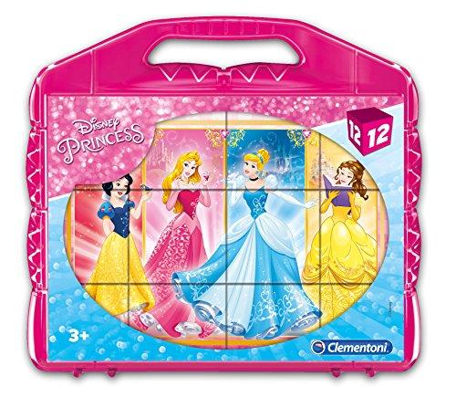 Clementoni - 41181 - Puzzle Cubi - Princess - 12 Cubi - Disney