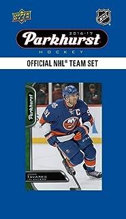 New York Islanders 2016 2017 Upper Deck PARKHURST Series Factory Sealed Team Set including John Tavares, Anders Lee, Cal Clutterbuck Plus