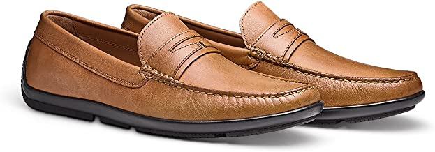 MORAL CODE The London: Men's Hand Crafted Leather Slip On Driver Loafer Shoes