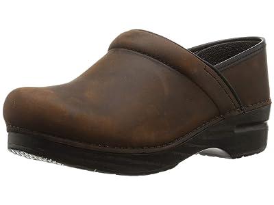 Dansko SINGLE SHOE Professional (Antique Brown/Black Oiled Leather) Shoes