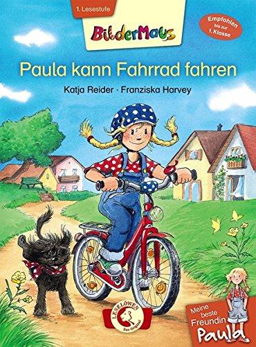 Bildermaus - Meine beste Freundin Paula: Paula kann Fahrrad fahren: Mit Bildern lesen lernen - Ideal für die Vorschule und Leseanfänger ab 5 Jahre