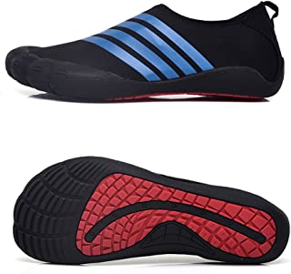 Water Shoes for Men Quick-Dry Aqua Sock Outdoor Athletic Sport Shoes for Kayaking,Boating,Hiking,Surfing,Walking