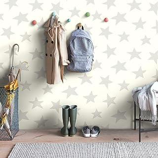 RoomMates RMK10848WP Star Peel and Stick Wallpaper