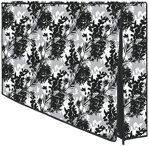 GENERIC Collection TV LED LCD Cover Dustproof Waterproof PVC Printed Television Cover For 32 Inches With Zip Lock Size 29X19x3 Inch