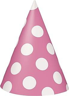 Unique Party Paper Hats, Hot Pink