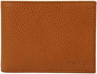 Gucci Brown Saffron Leather Dollar Calf Flap Wallet With logo 278596 7614