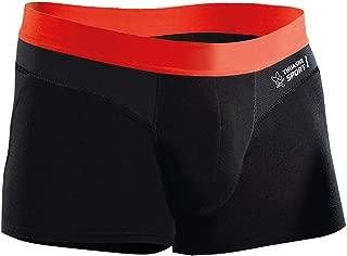 Shorty sans couture Thuasne Sport Noir Taille FR 40